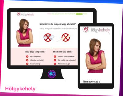 weboldal készítés referencia - Hölgykehely
